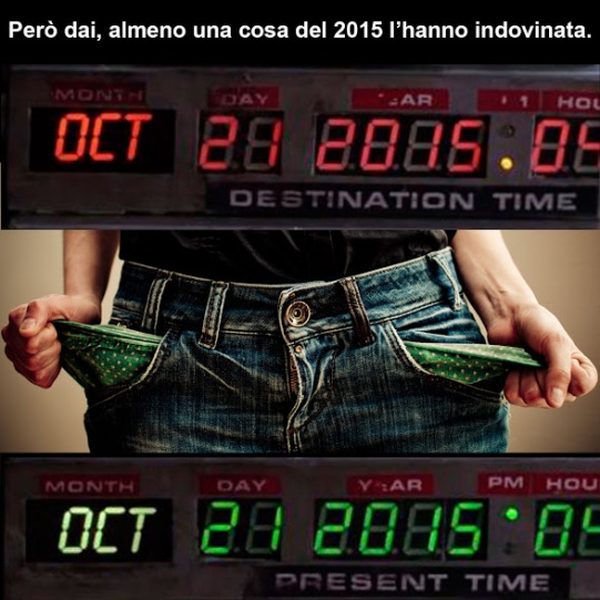 Previsioni del 2015 #backtothefuture